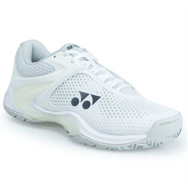 Yonex Power Cushion Eclipsion 2 Womens Tennis Shoe - White/Silver