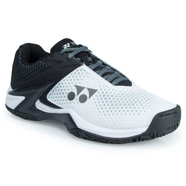Yonex Power Cushion Eclipsion 2 Mens Tennis Shoe - White/Black