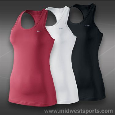 Nike Solid Long Distance Tank