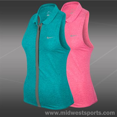 Nike Dri Fit Sleeveless Polo