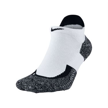 Nike Elite No Show White/Black Tennis Socks