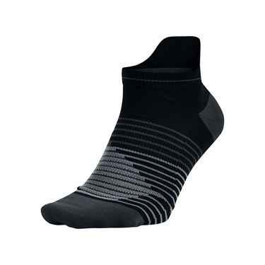 Nike Performance Lightweight No Show Running Socks - Black/Anthracite