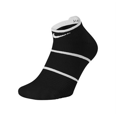 Nike Court Essentials No Show Tennis Sock - Black/White