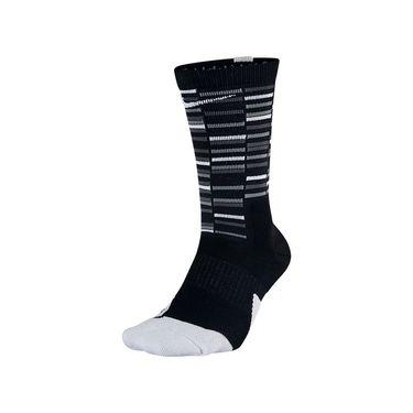 Nike Elite Crew Sock - Black/Grey