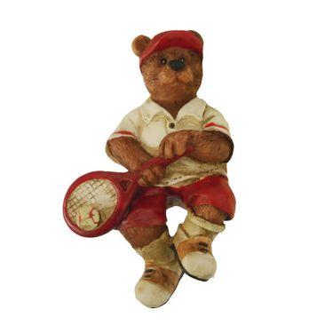 Clarke Tennis Ornament Bear with Racquet