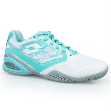 Lotto Stratosphere III Speed Womens Tennis Shoe - White/Green Thai