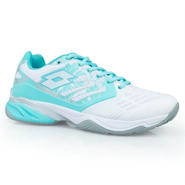 Lotto Ultrasphere ALR Womens Tennis Shoe - White/Green Thai