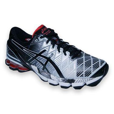 Asics Kinsei 5 Mens Running Shoe-Black/Onyx, T3E4Y9099