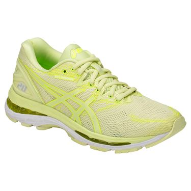 Asics Gel Nimbus 20 Womens Running Shoe - Lime Light/Safety Yellow