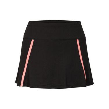 Tail Sunrise Flounce Skirt - Black
