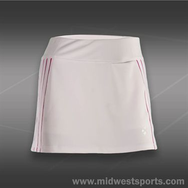 JoFit Lanai Rally Tennis Skirt-White