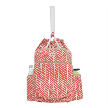 Ame and Lulu Kingsley Tennis Back Pack - Tango Print
