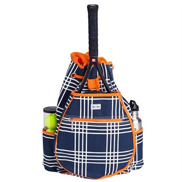 Ame & Lulu Kingsley Abbey Plaid Tennis Backpack