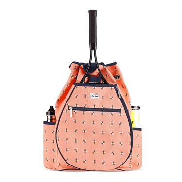 Ame and Lulu Kingsley Bees Knees Tennis Backpack