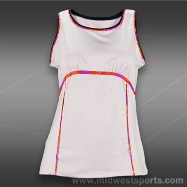 Tail Grand Victory Modern Fit Tank -White