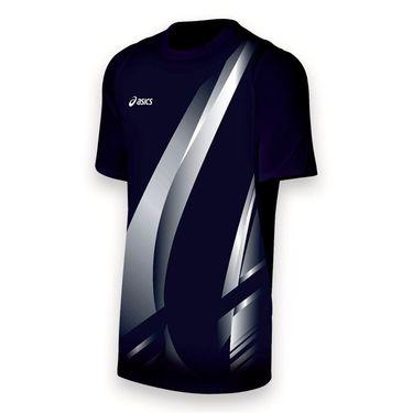 Asics Team Put Away Jersey-Navy/White