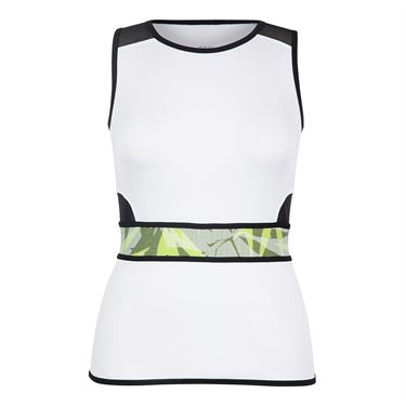 Tail Palm Springs Luxe Tank - White
