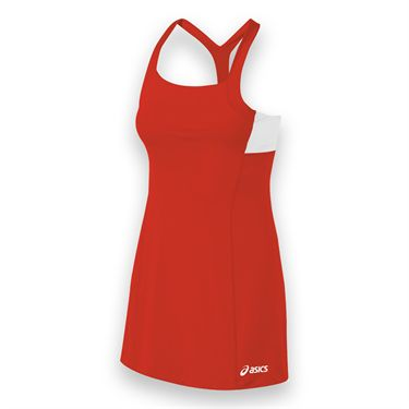 Asics Rally Dress - Red/White