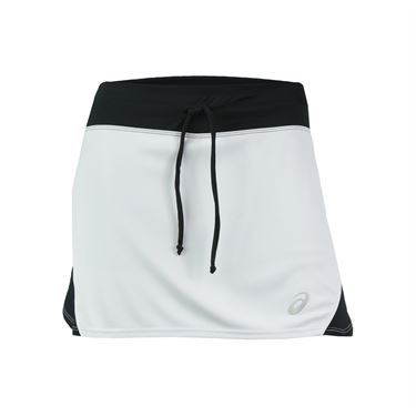 Asics Spin Slice Skirt - White/Black