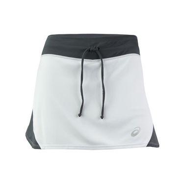Asics Spin Slice Skirt - White/Steel Grey