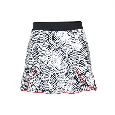Tail Red Hot Ruffled Hem Skirt - Boa