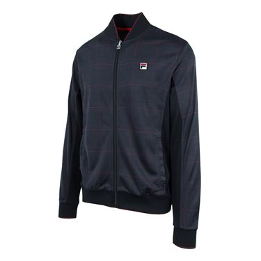 Fila Glen Plaid Settanta Jacket - Glen/Black/White