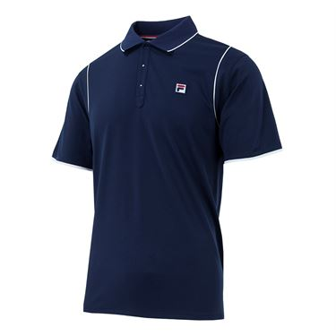 Fila Heritage Polo - Navy/White