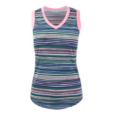 Jofit Paloma Match Point Tank - Aurora Stripe
