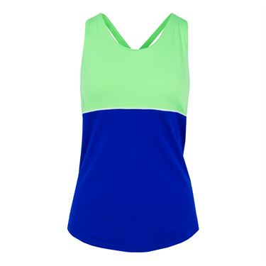 Jofit Mai Tai Loop Back Tank - Blueberry