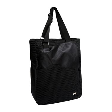 Glove It Black Mesh Tennis Tote
