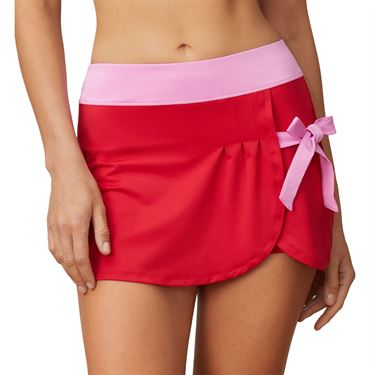 Fila 30 Love Side Tie Skirt Womens Crimson/Cyclamen TW015472 640