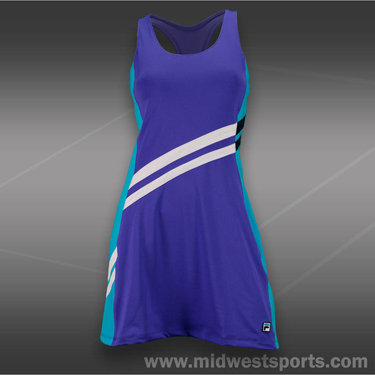 Fila Center Court Dress-Simply Purple