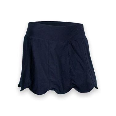 Fila Heritage Scalloped Hem Skirt-Peacoat