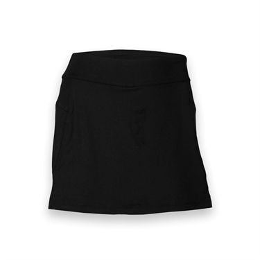 Fila Long Vented Skirt -Black