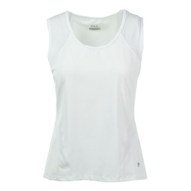 Fila Core Full Coverage Tank - White