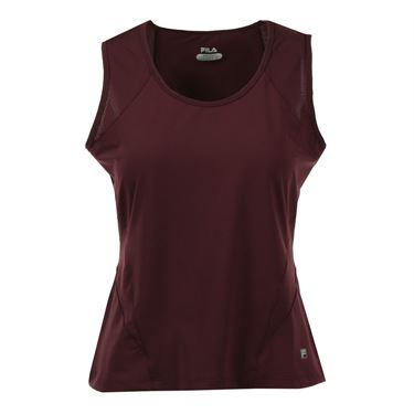 Fila Core Full Coverage Tank - Maroon