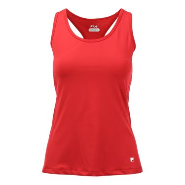 Fila Core Racerback Tank - Poppy Red