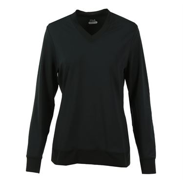 Fila Core Long Sleeve Top - Black
