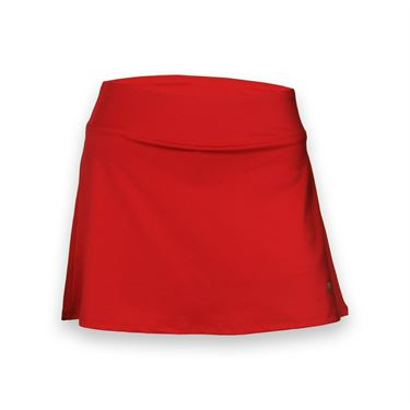 Fila Core Long Flirty Skirt - Poppy Red