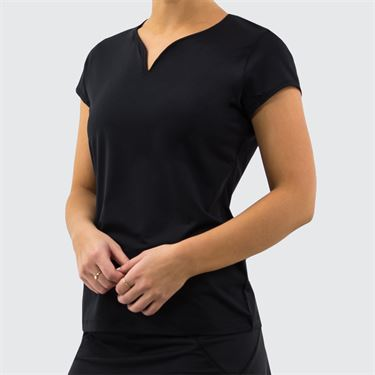 Fila Foundation Cap Sleeve Top Womens Black TW171WM4 001