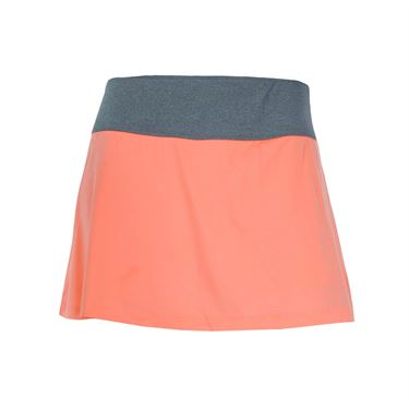 Fila Game Day Skirt - Fiery Coral/Charcoal Heather