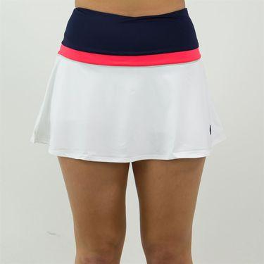Fila Heritage Colorblocked Skirt - Navy/Diva Pink/Mint