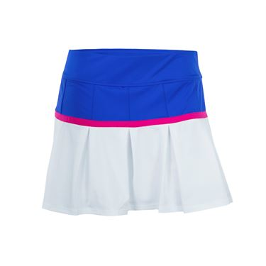 Fila Sweetspot Flirty Skirt - White/Amparo Blue/Raspberry Rose