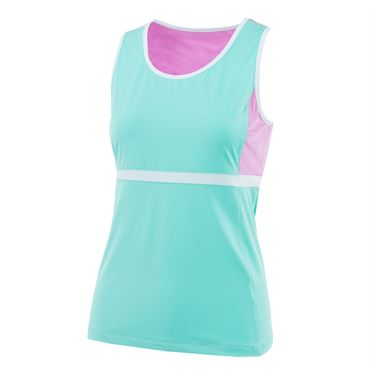Fila Elite Full Coverage Tank - Ice Green/Lilac