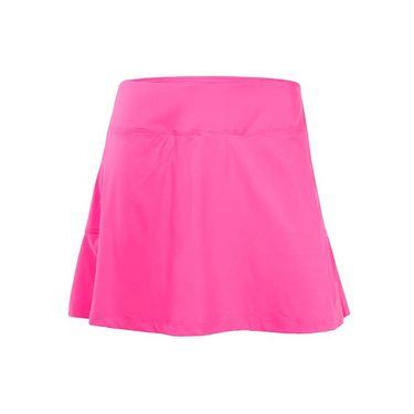Fila Windowpane Pleated Back Skirt - Miami Pink