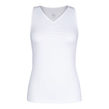 Tail Essential V Neck Tank - White