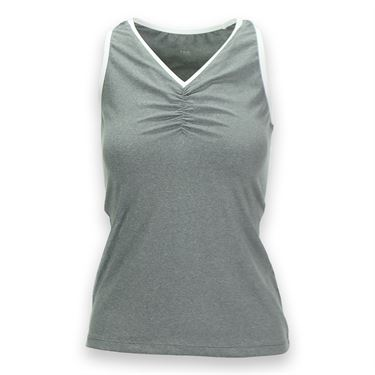 Tail Essentials V Neck Tank - Frosted Heather