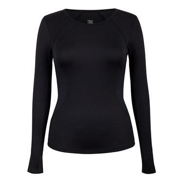 Tail Savannah Essentials Long Sleeve Top  - Black