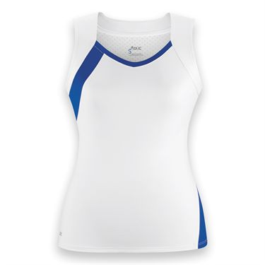 DUC Wink Tank-White/Royal Blue