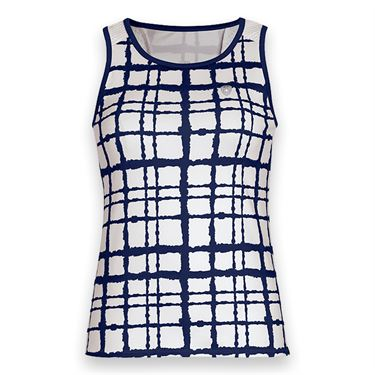 DUC Absolute Printed Tank - White/Navy